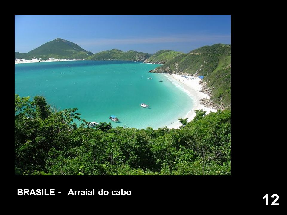 BRASILE - Arraial do cabo