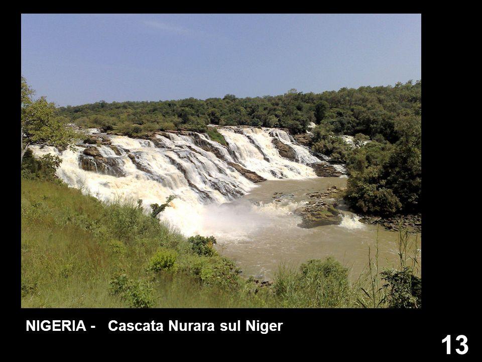 NIGERIA - Cascata Nurara sul Niger