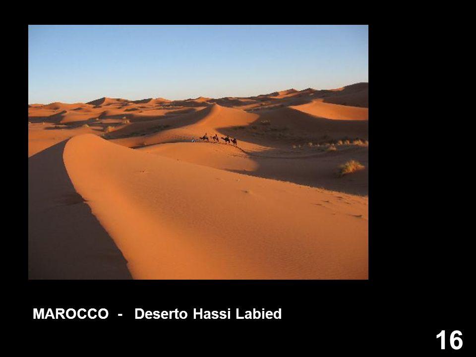 MAROCCO - Deserto Hassi Labied