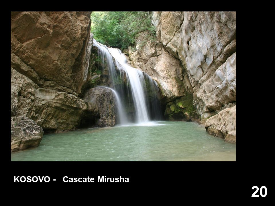 KOSOVO - Cascate Mirusha