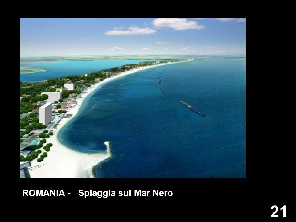 ROMANIA - Spiaggia sul Mar Nero