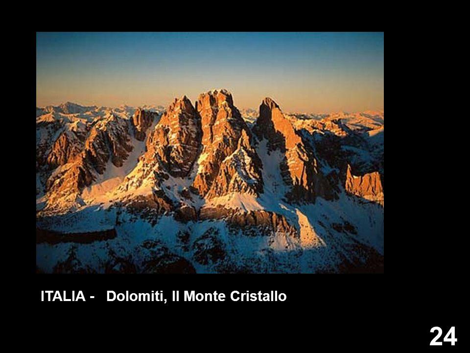 ITALIA - Dolomiti, Il Monte Cristallo