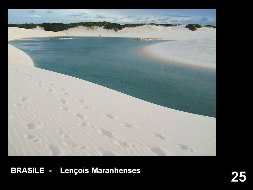 BRASILE - Lençois Maranhenses
