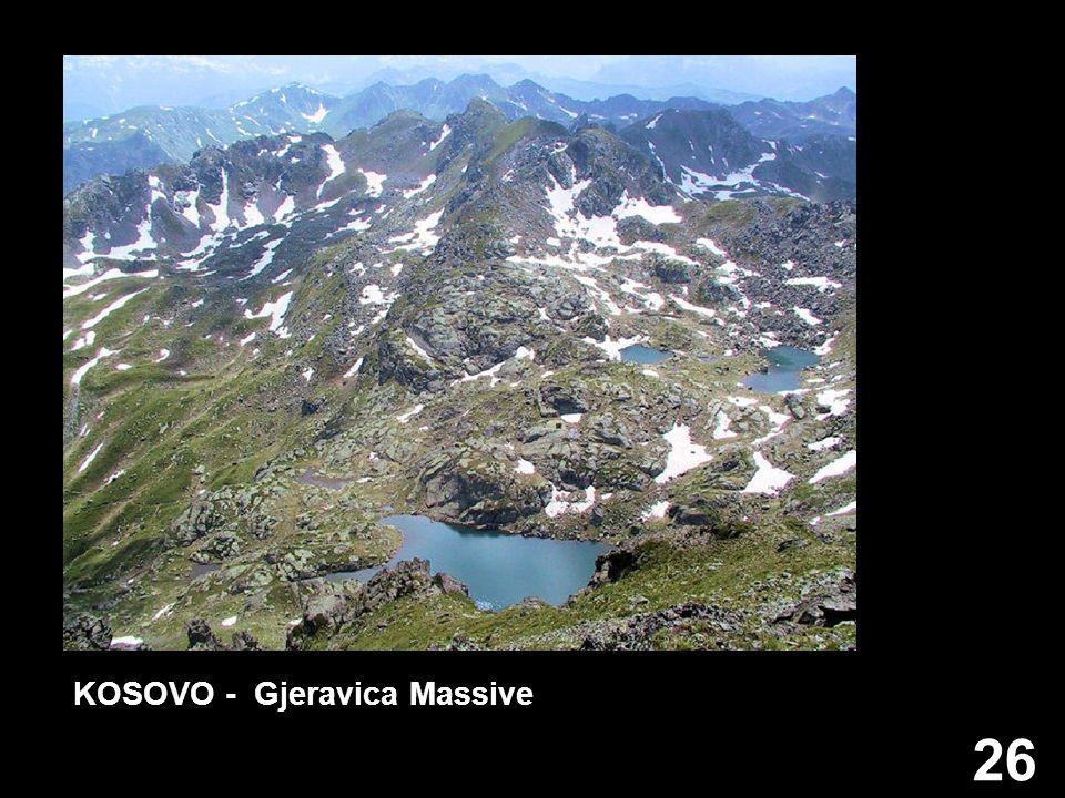 KOSOVO - Gjeravica Massive