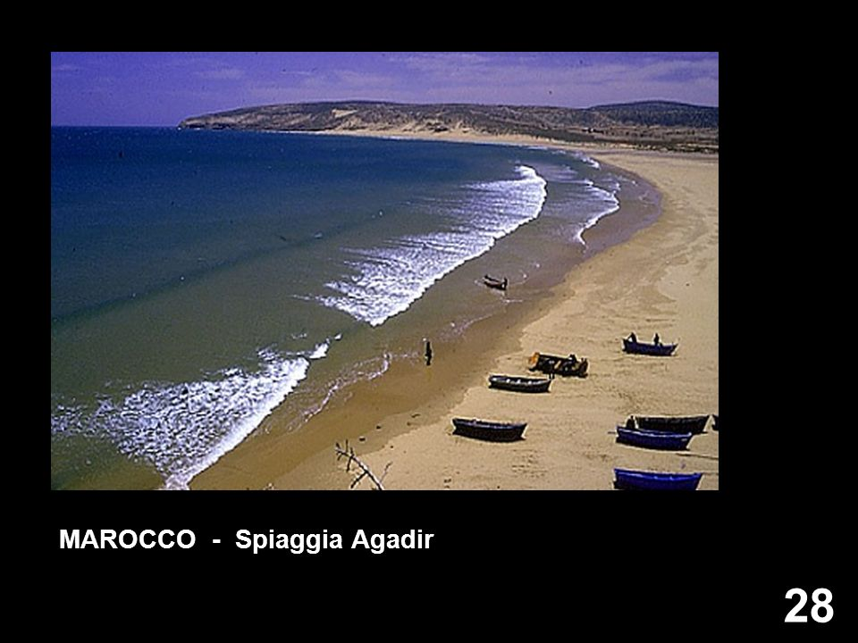 MAROCCO - Spiaggia Agadir
