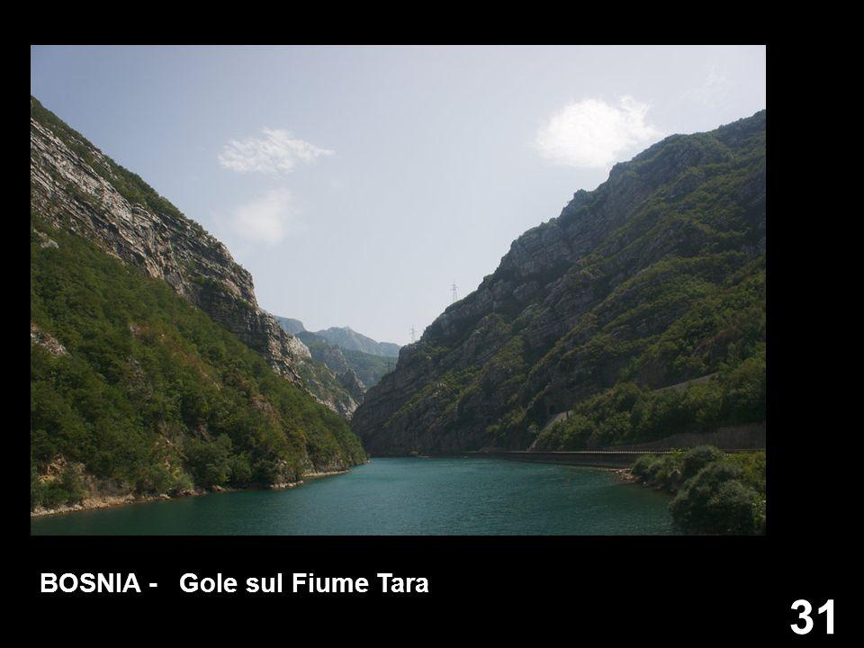 BOSNIA - Gole sul Fiume Tara
