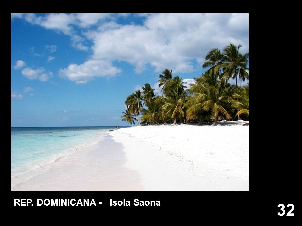 REP. DOMINICANA - Isola Saona