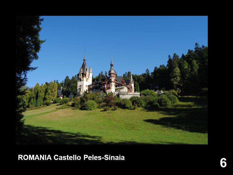 ROMANIA Castello Peles-Sinaia