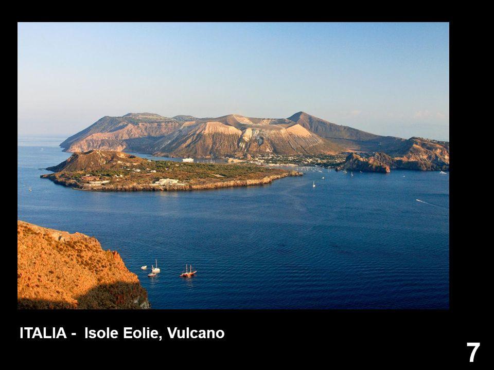 ITALIA - Isole Eolie, Vulcano