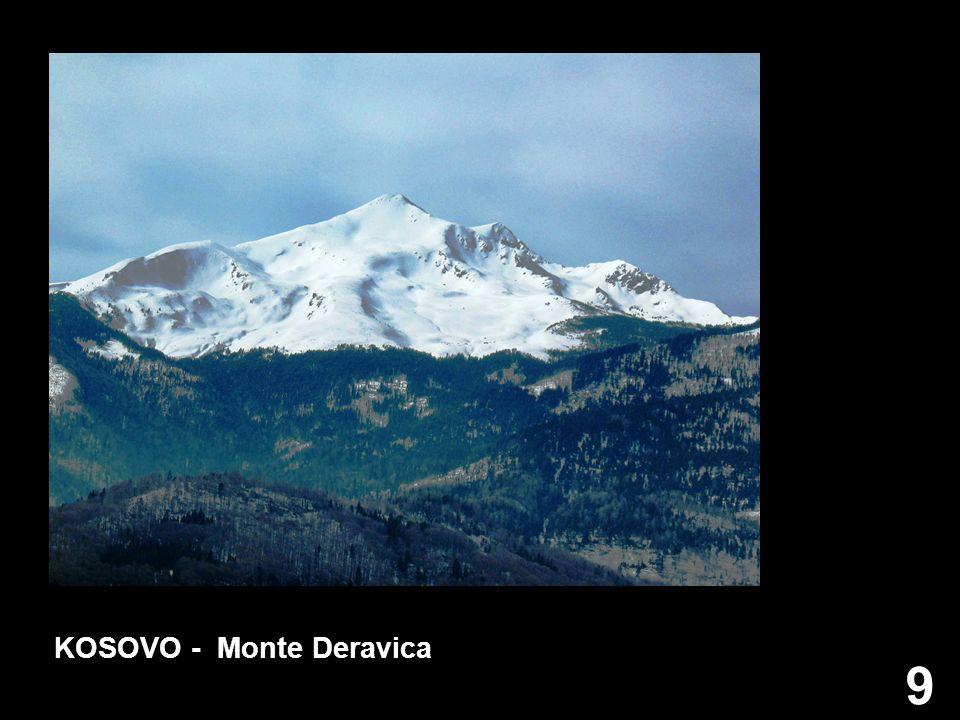 KOSOVO - Monte Deravica