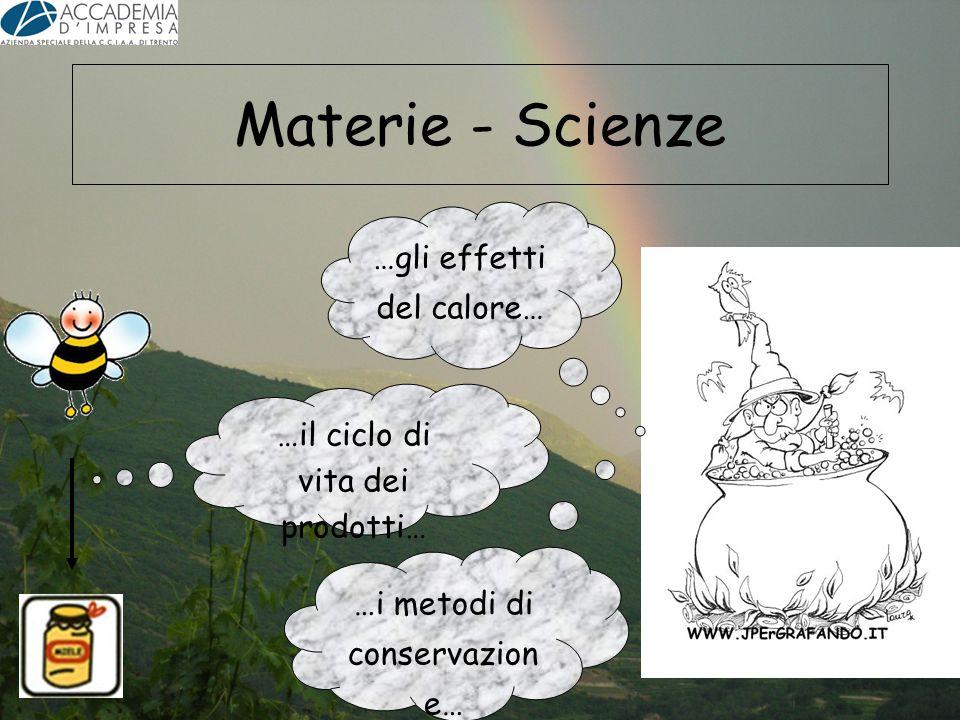 Materie - Scienze …gli effetti del calore…