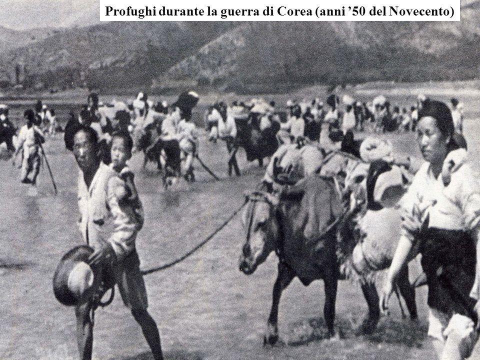 Profughi durante la guerra di Corea (anni '50 del Novecento)