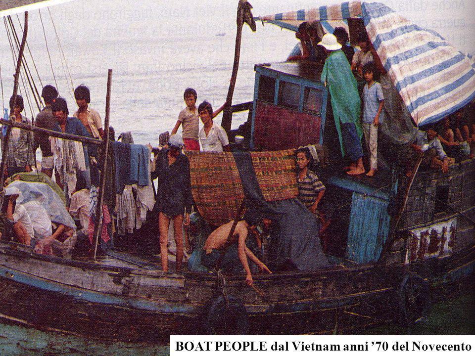 BOAT PEOPLE dal Vietnam anni '70 del Novecento