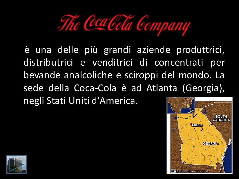 è una delle più grandi aziende produttrici, distributrici e venditrici di concentrati per bevande analcoliche e sciroppi del mondo.