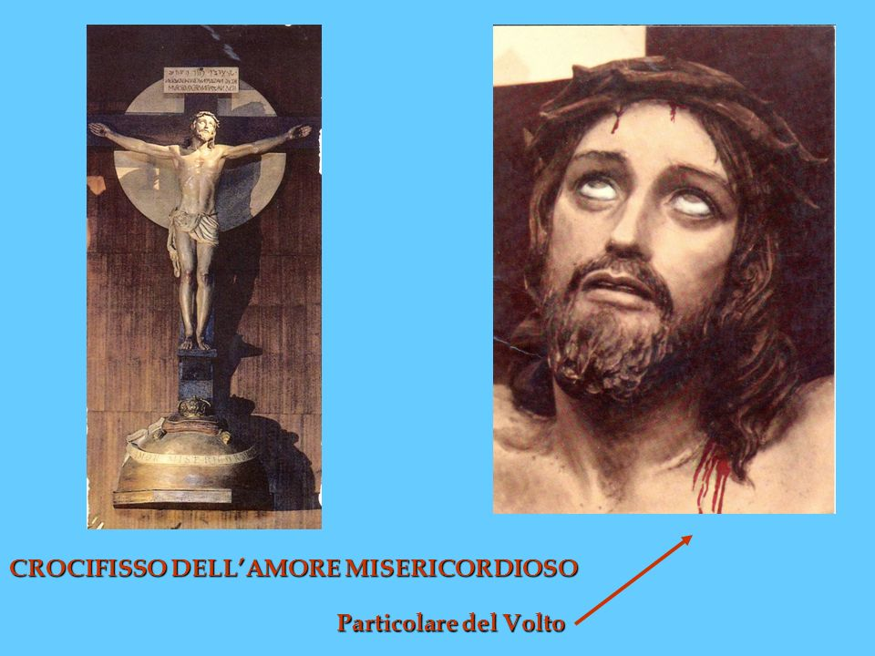 CROCIFISSO DELL'AMORE MISERICORDIOSO