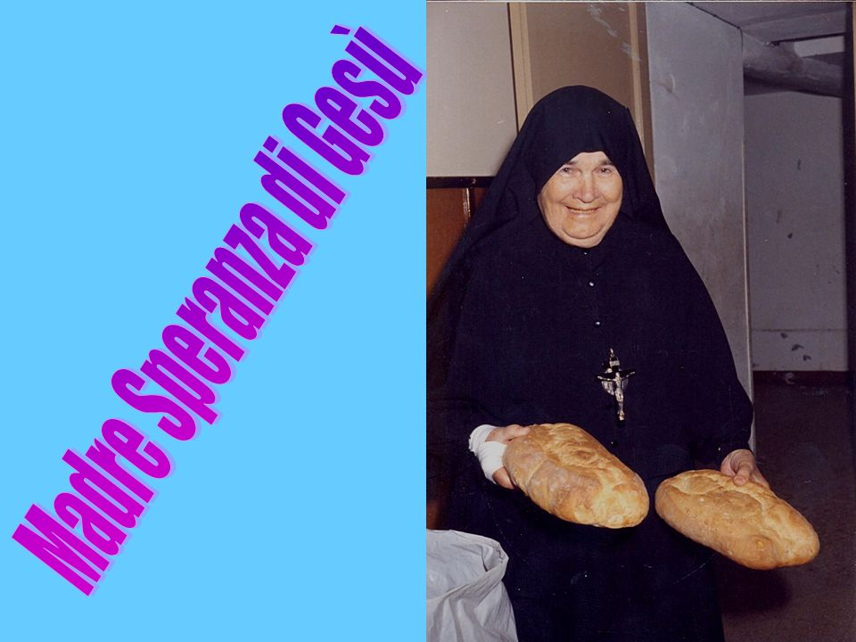Madre Speranza di Gesù