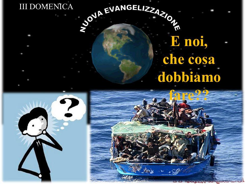 NUOVA EVANGELIZZAZIONE