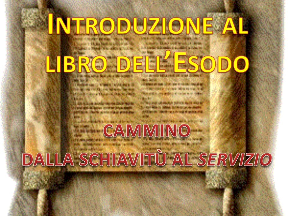 Introduzione al libro dell'Esodo