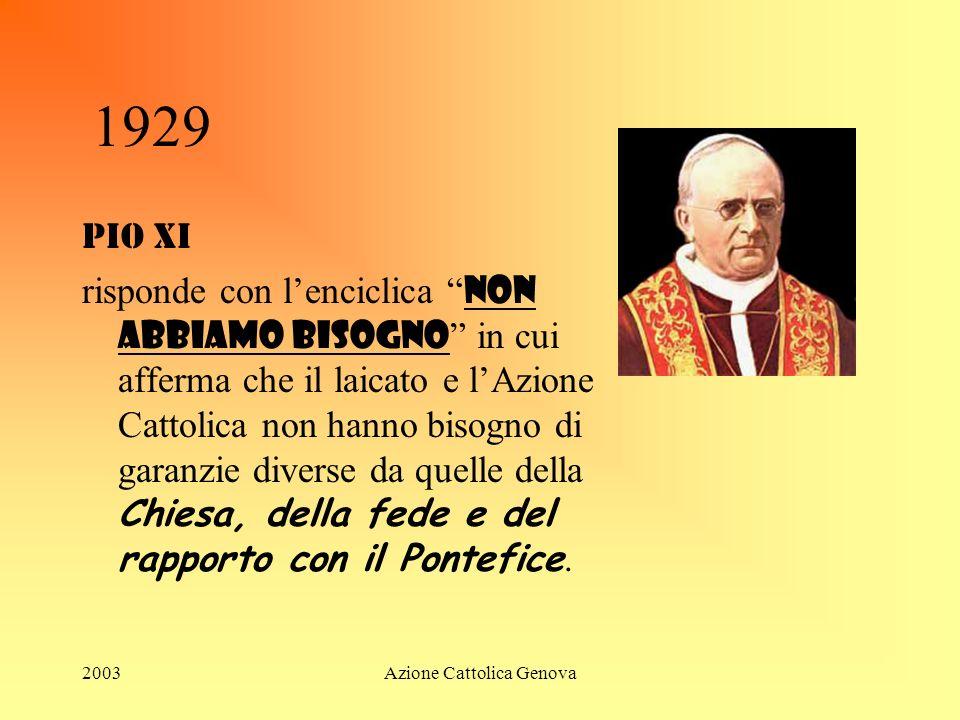 Azione Cattolica Genova