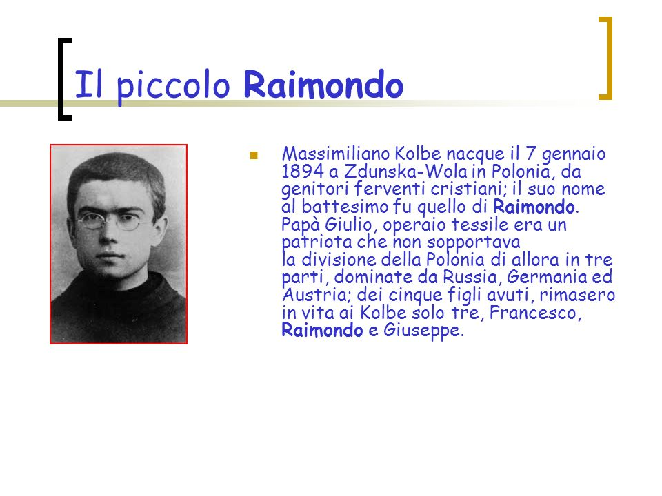 Il piccolo Raimondo