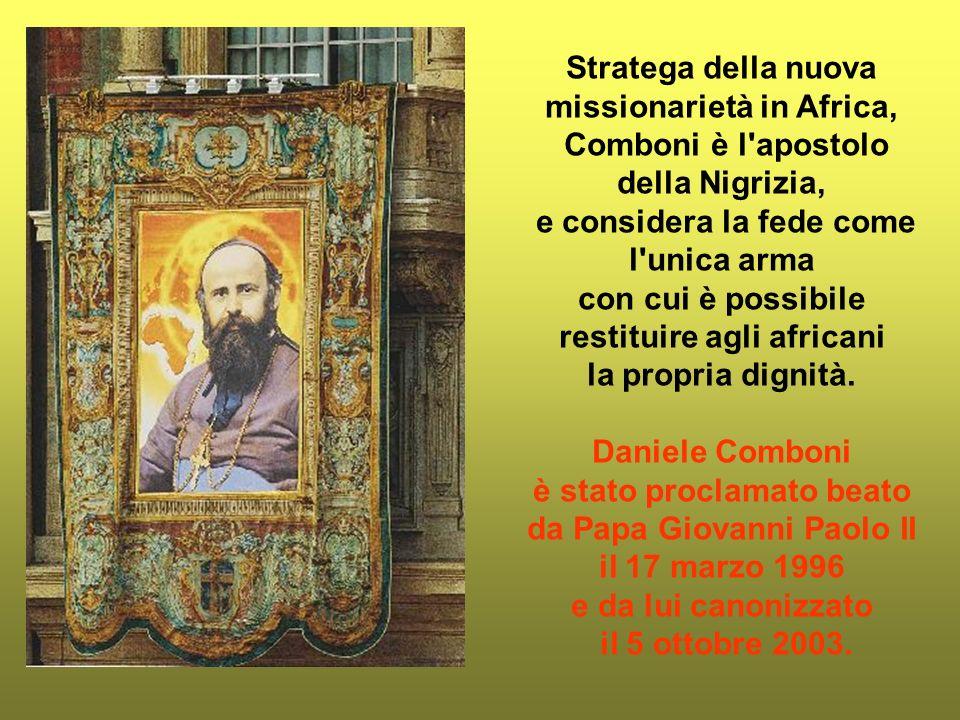 Stratega della nuova missionarietà in Africa,
