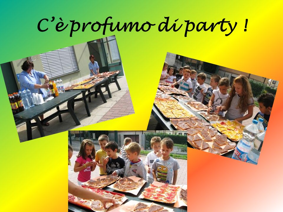 C'è profumo di party !