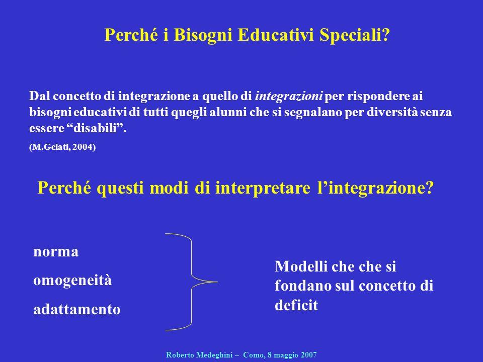 Perché i Bisogni Educativi Speciali