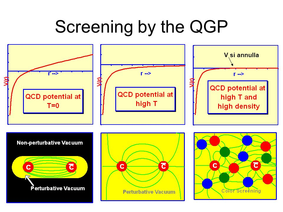 Screening by the QGP V si annulla