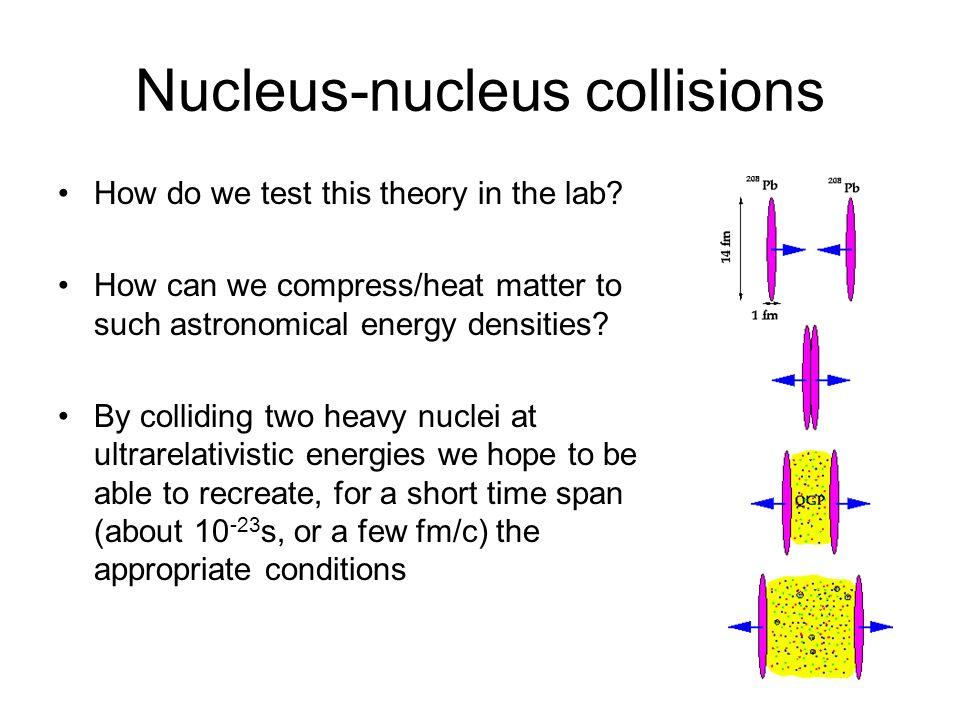 Nucleus-nucleus collisions
