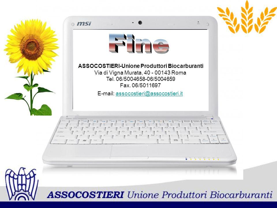 ASSOCOSTIERI-Unione Produttori Biocarburanti