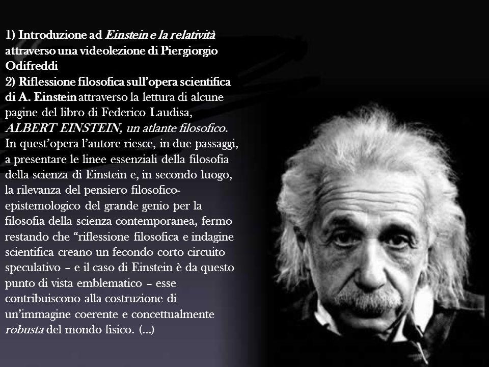 1) Introduzione ad Einstein e la relatività attraverso una videolezione di Piergiorgio Odifreddi