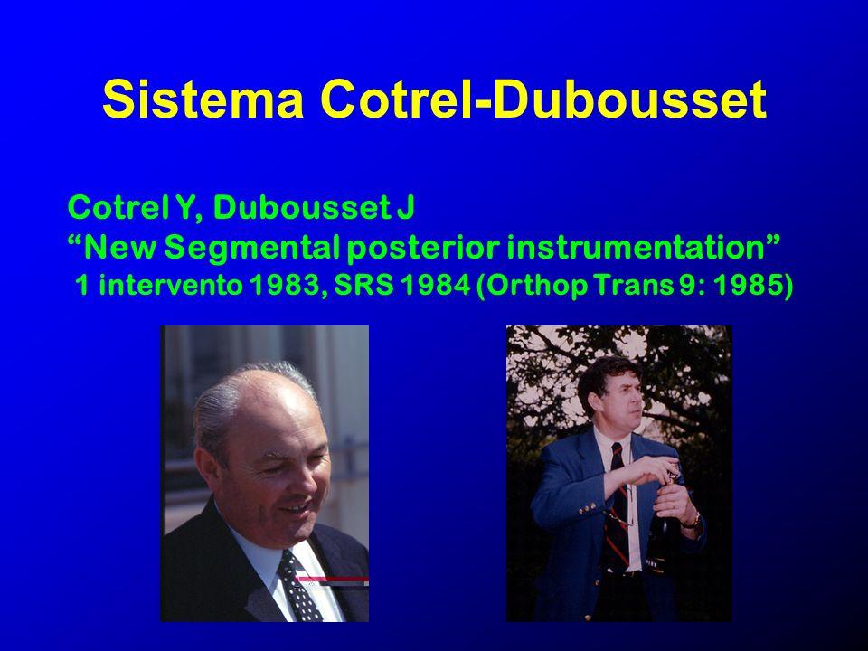 Sistema Cotrel-Dubousset