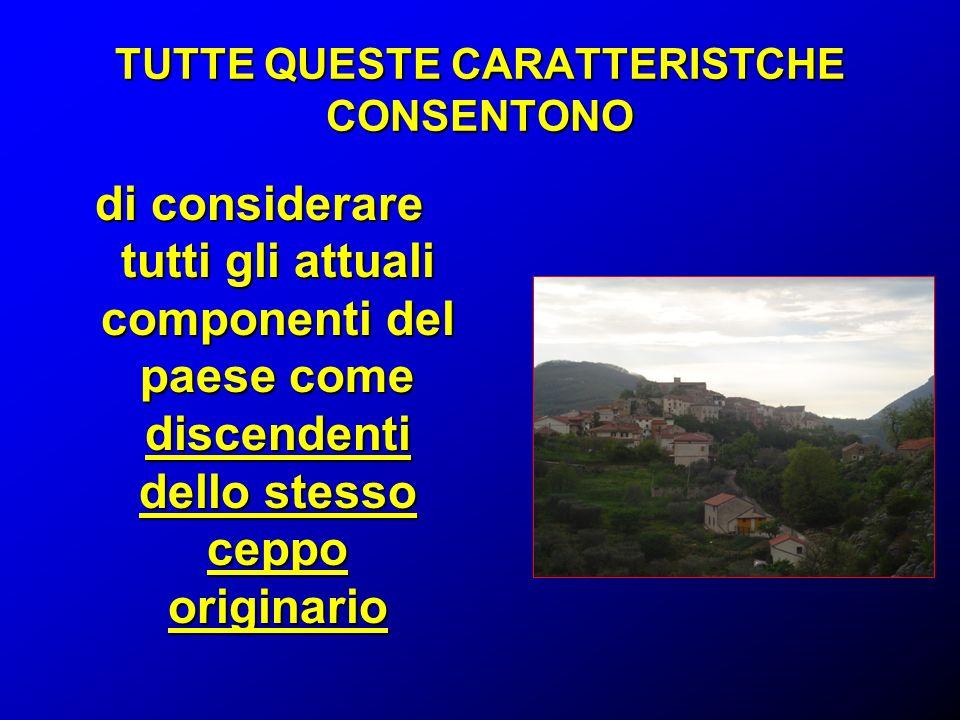 TUTTE QUESTE CARATTERISTCHE CONSENTONO