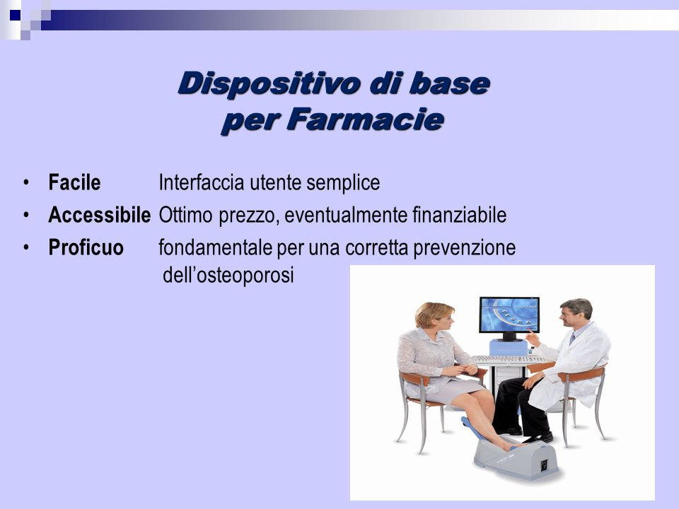 Dispositivo di base per Farmacie