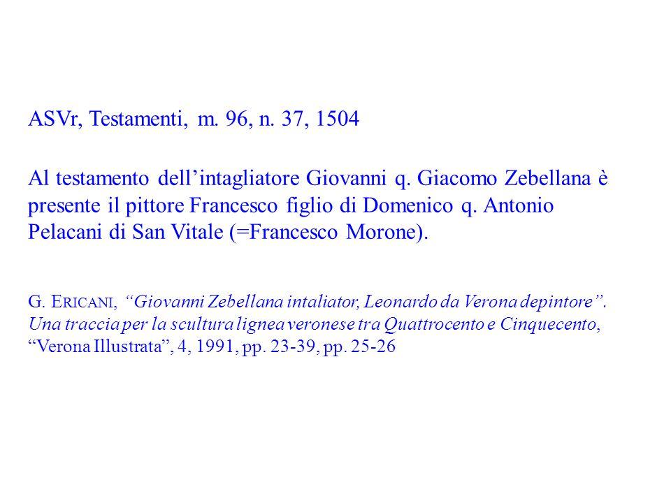 ASVr, Testamenti, m. 96, n. 37, 1504