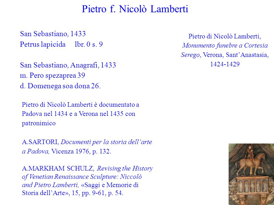 Pietro f. Nicolò Lamberti