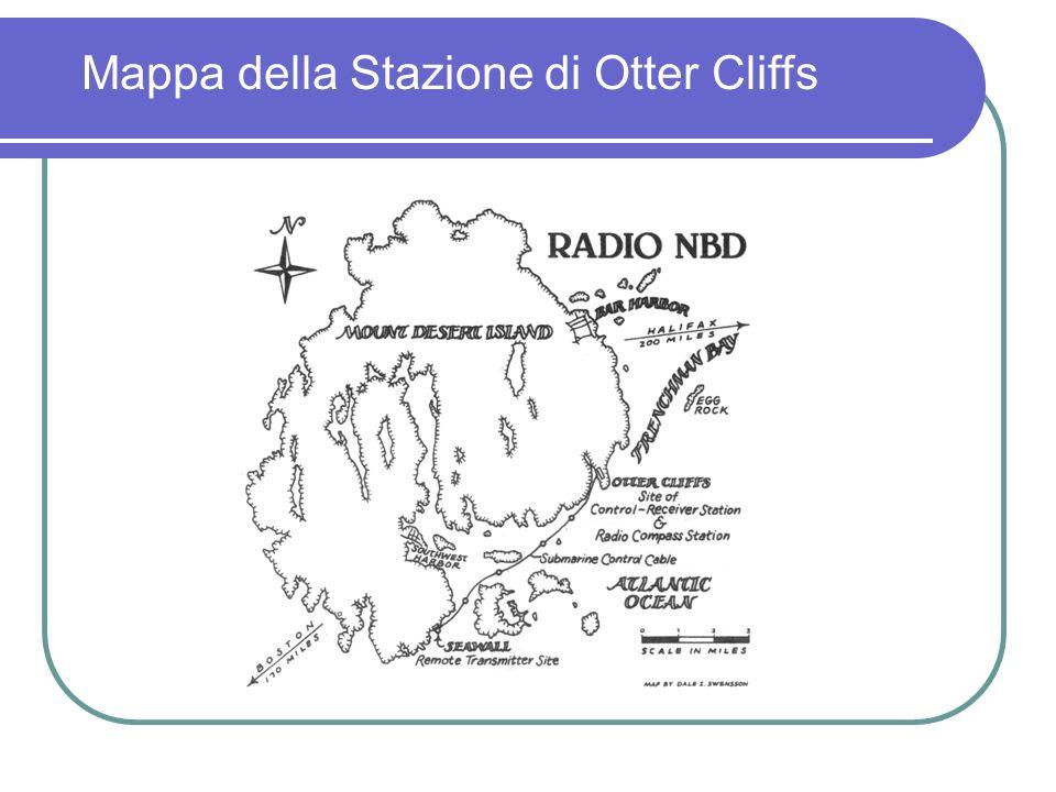 Mappa della Stazione di Otter Cliffs