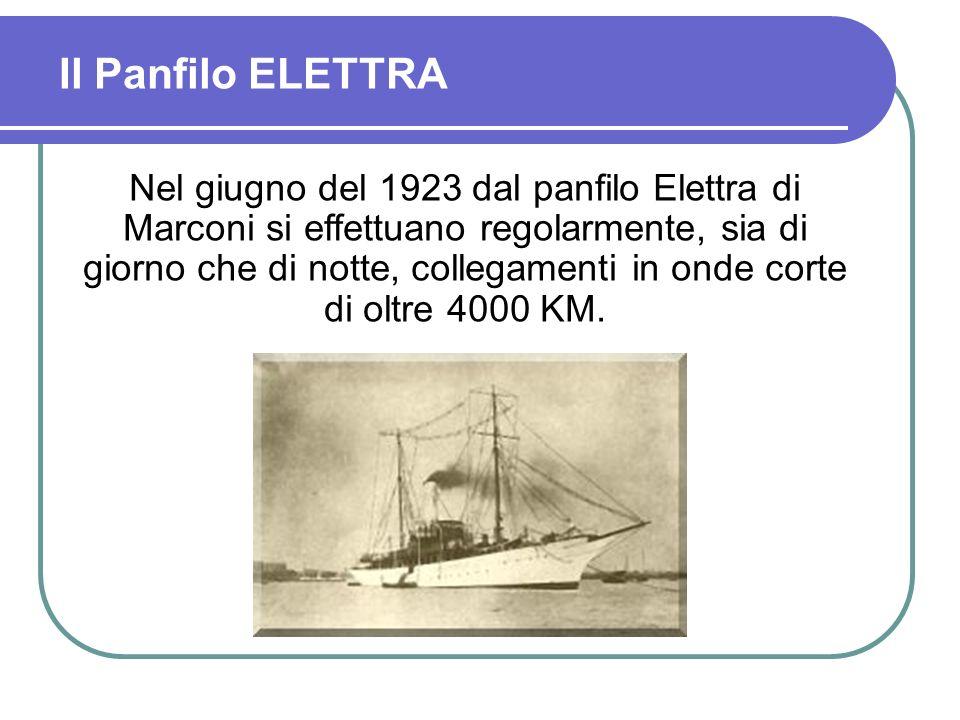 Il Panfilo ELETTRA