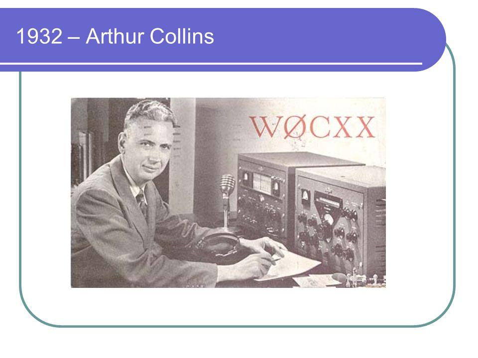 1932 – Arthur Collins