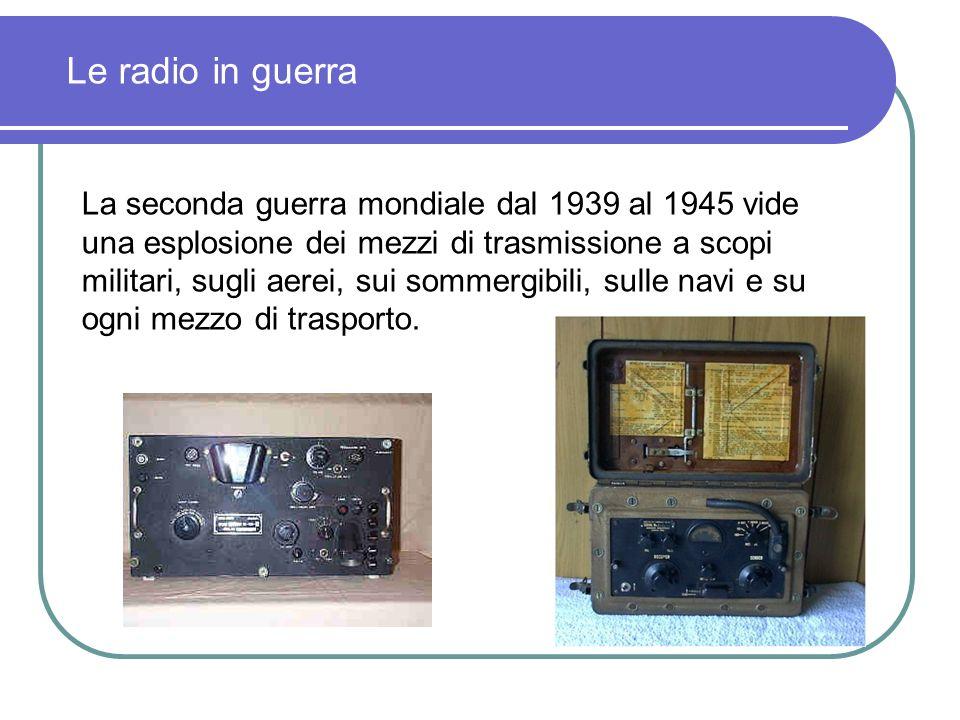 Le radio in guerra