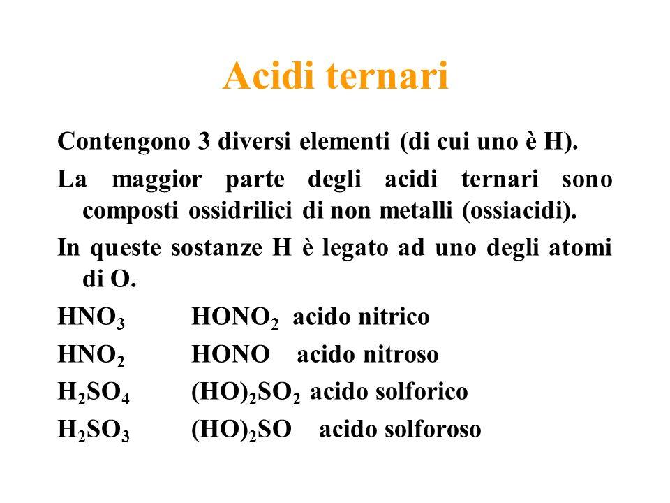 Acidi ternari