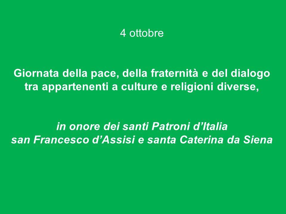 in onore dei santi Patroni d'Italia