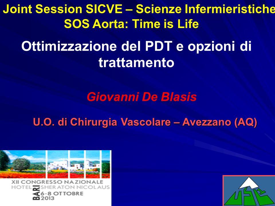 Ottimizzazione del PDT e opzioni di trattamento