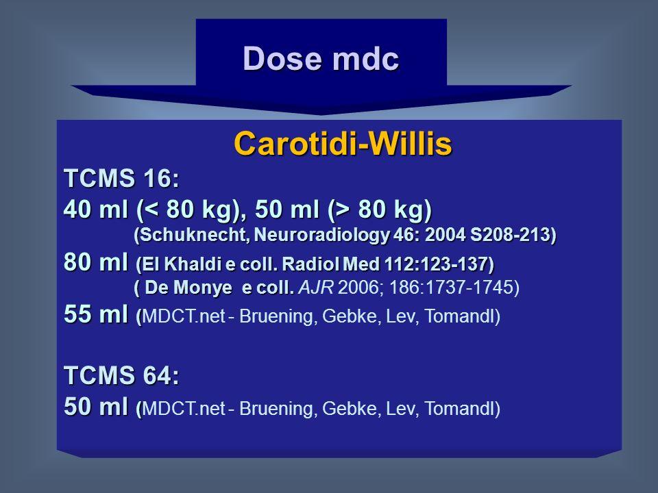 Dose mdc Carotidi-Willis