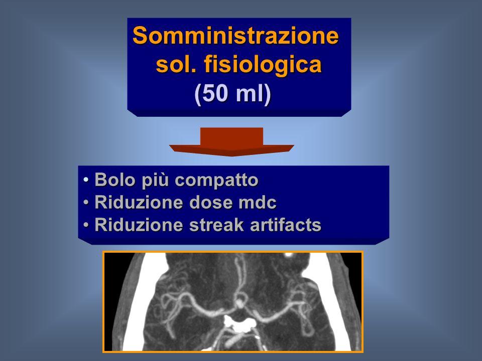 Somministrazione sol. fisiologica (50 ml)