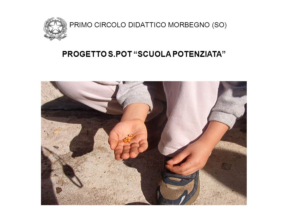 PRIMO CIRCOLO DIDATTICO MORBEGNO (SO)