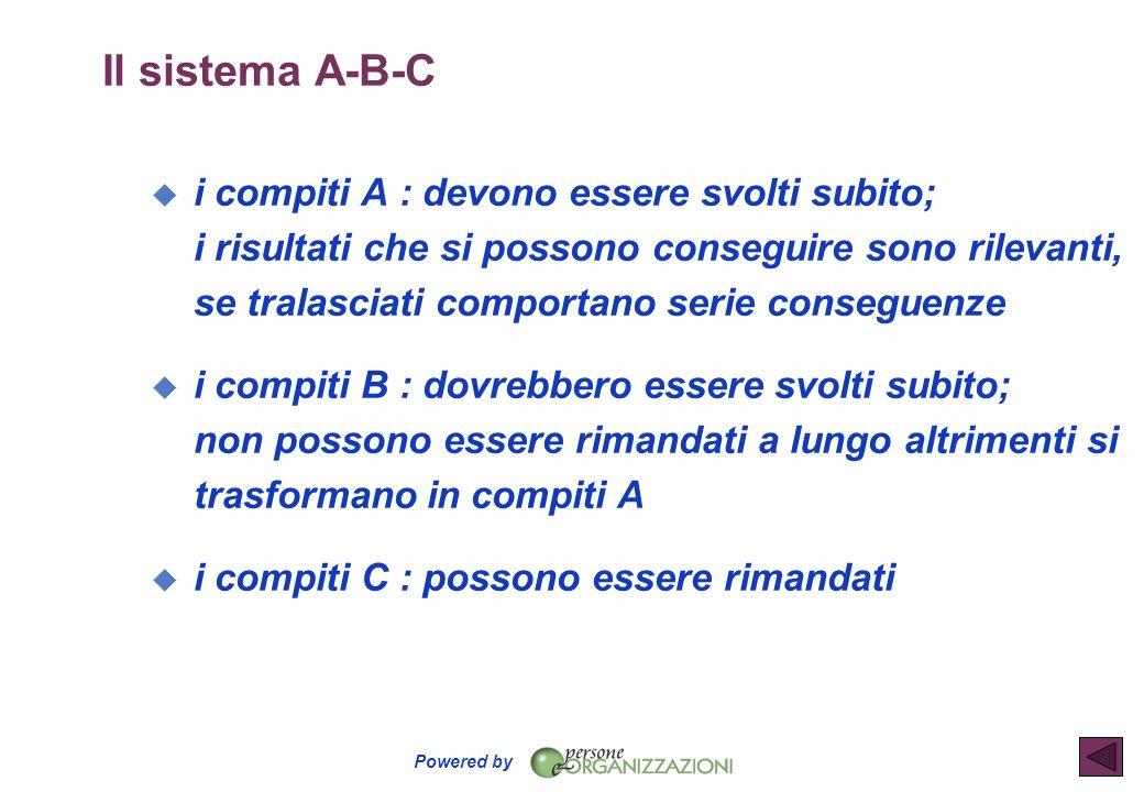 Il sistema A-B-C