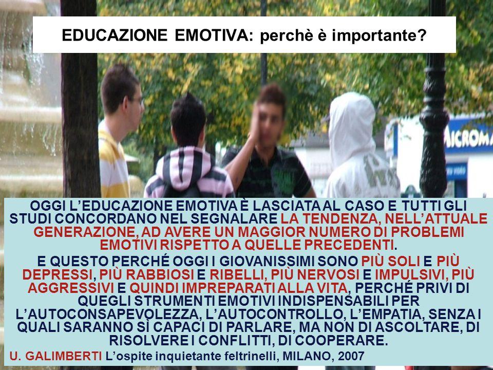 EDUCAZIONE EMOTIVA: perchè è importante