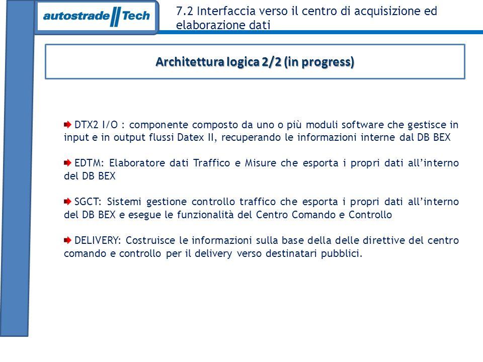 Architettura logica 2/2 (in progress)