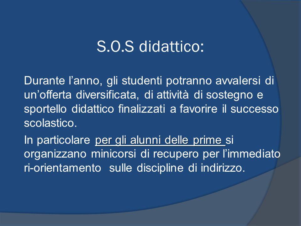 S.O.S didattico: